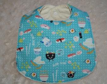 Boutique Kawaii Sushi Baby Bib