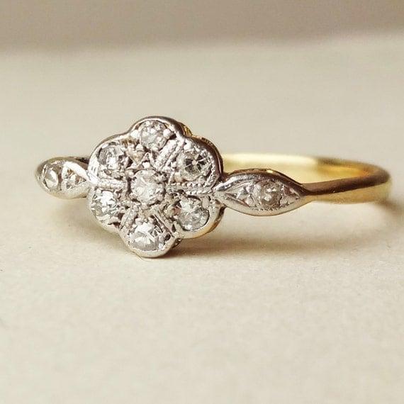 Etsy Amethyst Ring