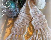 PATTERN Sugar Cookies Holiday Memories Crochet Scarf Instant Download