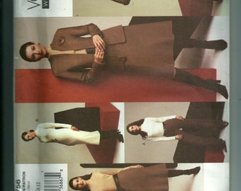 Vogue Misses' Jacket, Top, Dress, Skirt and Pants Pattern 2756