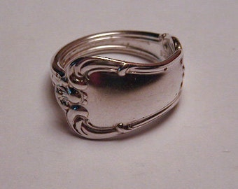 Sterling Silver Spoon Ring Recycled Silverware Jewelry Birk's Sterling Made to Order