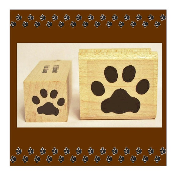 Cat Paw Print Stamp Uk