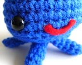 SALE blue octopus