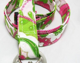 Lanyard Badge Holder with Breakaway Clip So Lilly