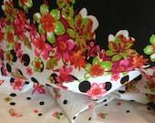 Floral Print Fabric 3/4 Yard Panel