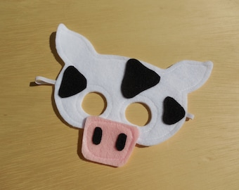 Child Size Cow Mask Only