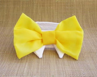 Wedding Bow Tie Dog or Cat : For Your Spring Wedding Lemon Zest