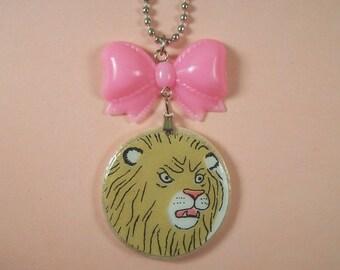 Fierce Lion Necklace