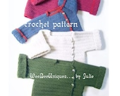 crochet pattern digital download toddler playtime sweater