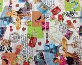Timeless Treasures Fabric Paris-C 1 Yard