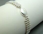 RAW Sterling Silver Bracelet