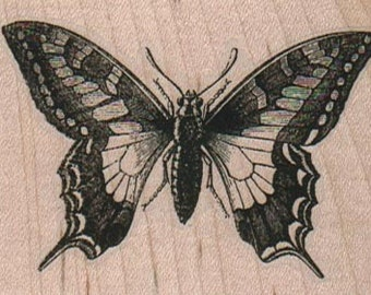 Rubber stamp Butterfly  wood Mounted  scrapbooking supplies number 14159