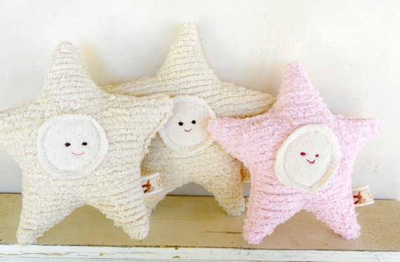 Waldorf Toy, Eco Kids Toy, Star Baby,  Plush, Natural, Eco-Friendly Baby Shower Toy, A Star is Born