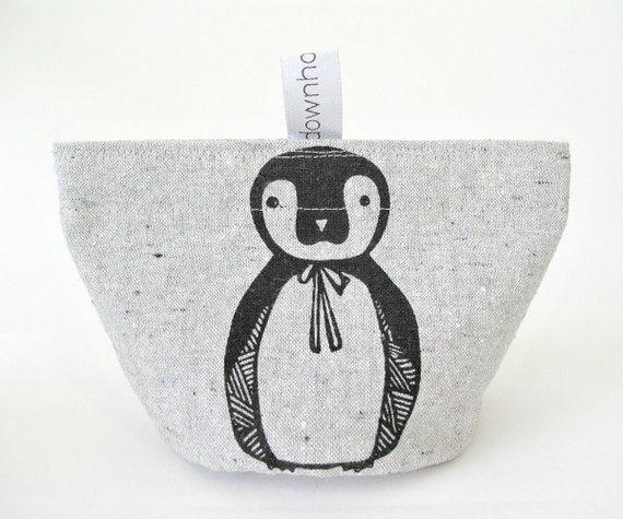 Snack pouch (small), Snack bag, Penguin, Organic