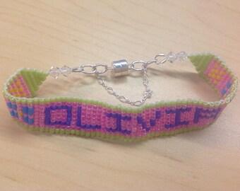 Personalized Name Beaded Bracelet