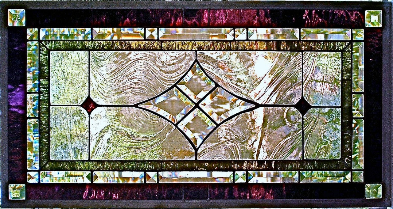 Stained Glass Window Panel Custom