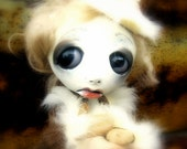 Loopy Gothic Art Doll Ooak Doll Jadzia Gorski RESERVED for A