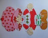 Strawberry Shortcake Fabric Cut-Out