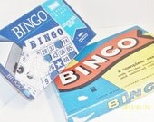 Two Vintage Bingo Boxes For Altered Art, Mixed Media