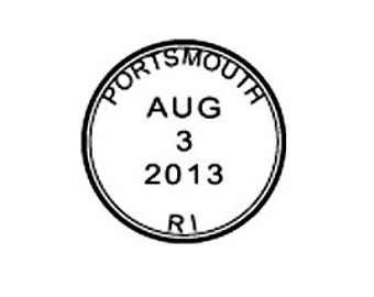 Save the date Cancellation marks custom round Postmark Mail Rubber Stamp great for wedding postcards