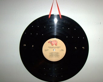 Earring and Necklace Holder Record Album - Saturday Night Fever - Vinyl LP - Jewelry Box