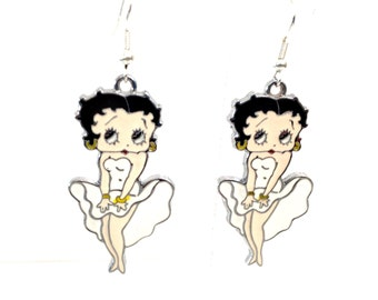 Betty Boop Classic Marilyn Monroe White Dress Pose