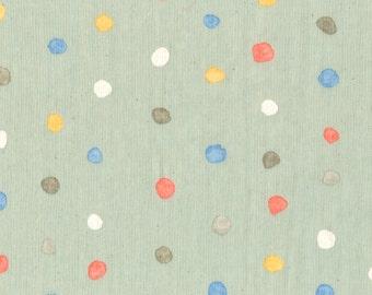 Nani Iro Kokka Japanese Fabric Colorful Pocho - orchard - 50cm
