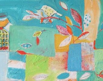 Free Bird....Original Painting by Michelle Daisley Moffitt