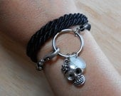 Sea Glass Jewelry - Sea Glass Nautical Wrap Bracelet / Necklace / Anklet  - JACOB'S LADDER
