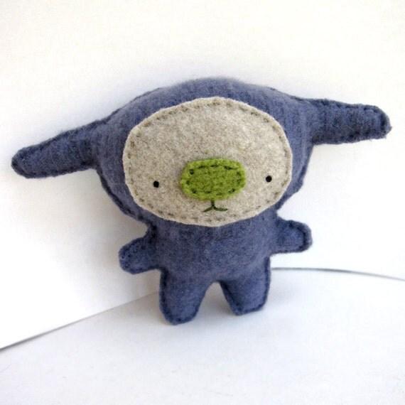 Indigo Foo - Recycled Cashmere Plush Toy