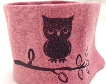Wrist Cuff Wallet for runners  Eco-Friendly Kindess Owl