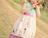 Children at Play Tank Dress - Size 4t