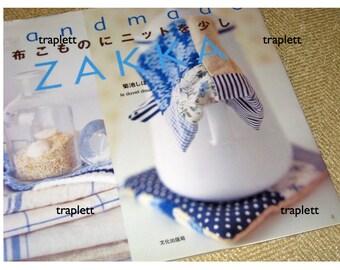 Japanese Craft Pattern Book  Handmade  Zakka sewing with linen cotton
