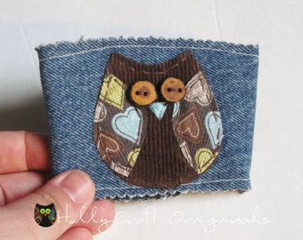 Reusable Coffee Cup Sleeve, Coffee Cup Cozy or Cuff, Owl, Coffee Cozy, Coffee Cuff, Cup Cozy, Coffee Sleeve, Owl Coffee Sleeve,Eco-friendly