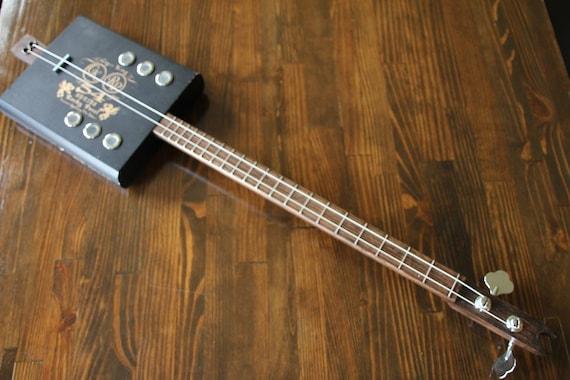 Cigar Box Bass Guitar 2 String
