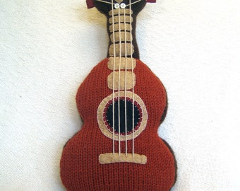 Ukulele Knitting Pattern