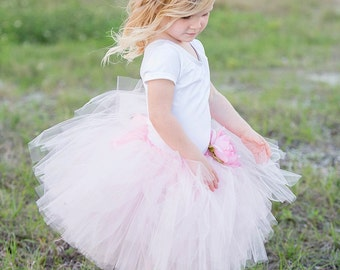 T R E V I tutu(Large 4-6) CUSTOM COLOR tutu, Flower Girl tutu, Baby tutu, Custom Girls tutu, Birthday tutus, Wedding