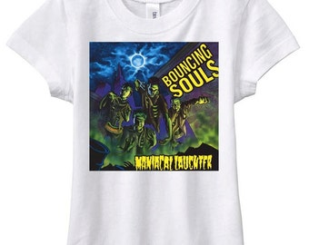 bouncing souls punk rock  tee shirt maniacal laughter