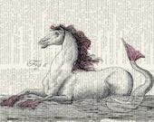 18oo's mythological creature III print