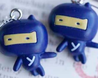 Ninja Dangle Earrings