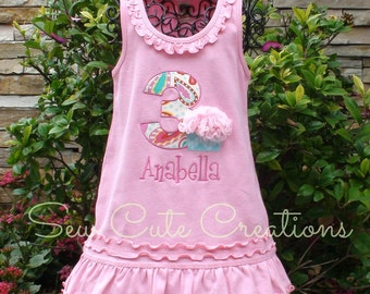 Girl Cupcake Birthday Dress, Chiffon Cupcake Birthday Dress, Birthday Cupcake dress, Cupcake dress, Pink cupcake dress, sew cute creations