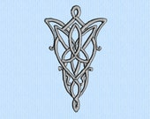 Lord of the Rings (LOTR) Evenstar Machine Embroidery Design File
