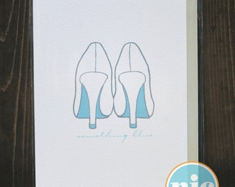 Something Blue - Engagement/Wedding Card