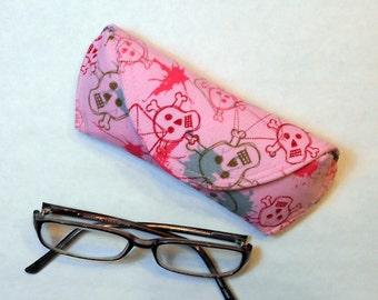 Eyeglass Case or Sunglass Case - Girl Goth