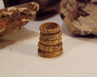 Picture Jasper Ring  --  US Size 5.75, 8.25  & 8.5 -- Your Choice of One