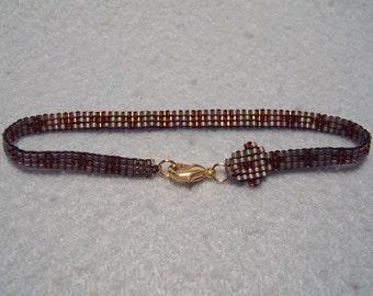 Beaded Snake Bracelet - Rattle Snake