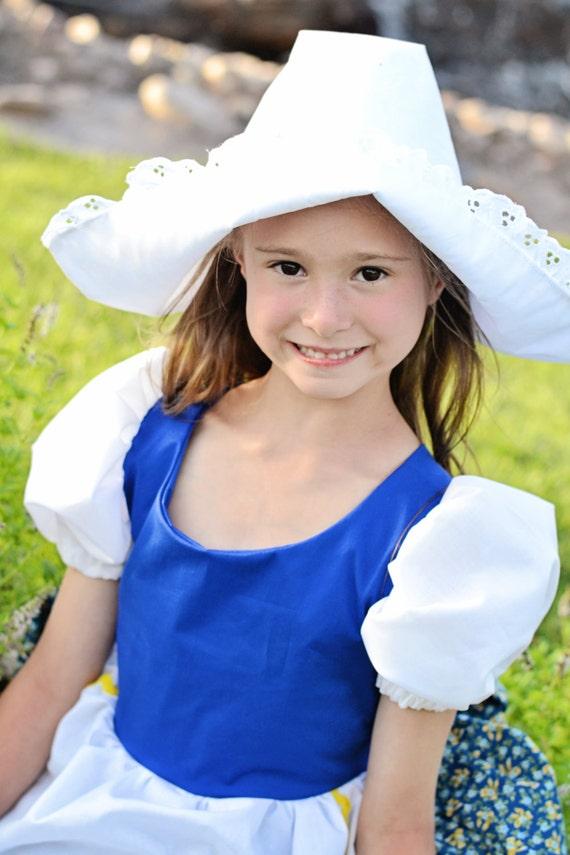 Cute Little Dutch Girl Hat by enchantedkingdom on Etsy Cutedutch Nl