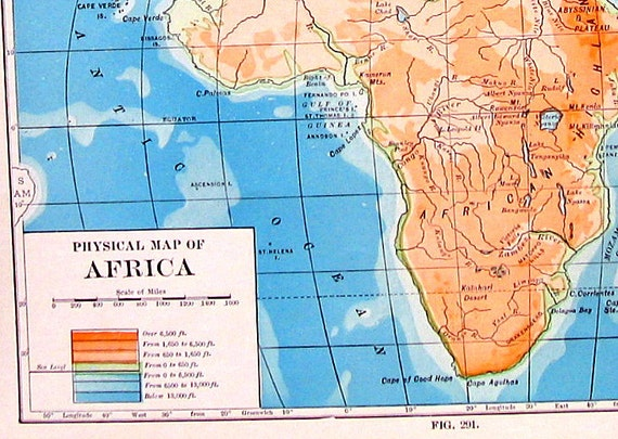 Africa Physical Map 2014 Physical Map of Africa...