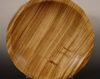 Exotic African Zebrawood Bowl Number 5009 By Bryan Tyler Nelson for NELSONWOOD