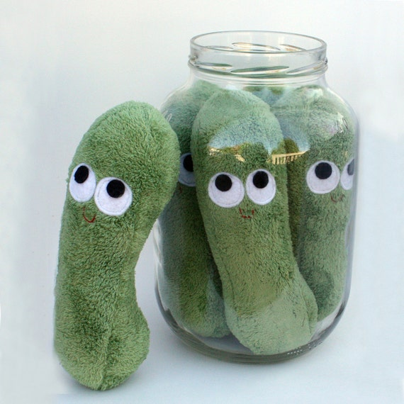 Dill Pickle - Plush Food - One Pickle